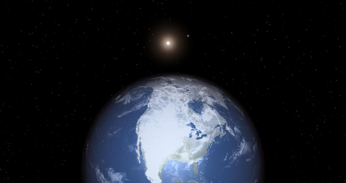 An Earth twin orbiting Alpha Cen B.